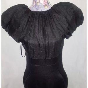 Women's Satin Silk Formal Dress.
